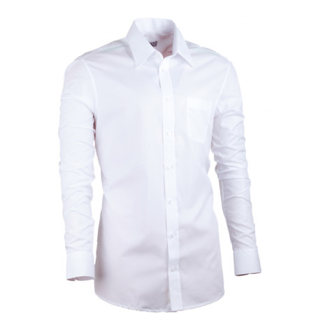 Biela pánska košeľa Assante vypasovaná 30004