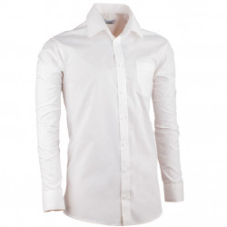 Smotanová pánska košeľa slim fit s dlhým rukávom Aramgad 30280