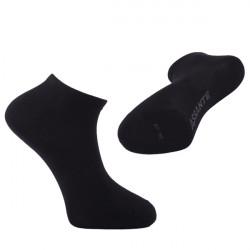 Čierne antibakteriálne ponožky letné nízke Assante 70801