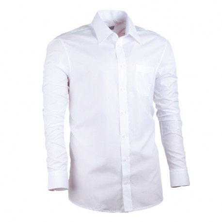 Nadmerná košeľa rovná biela Assante 31011