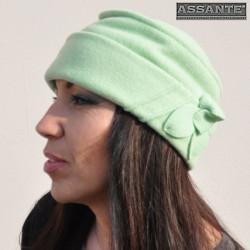 Zelená čiapka dámska ANYTRA 87145