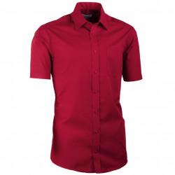 Nadmerná košeľa bordó 100% bavlna non iron Assante 41035