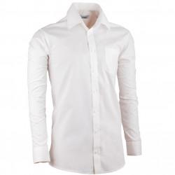 Smotanová pánska košeľa dlhý rukáv Aramgad 30281