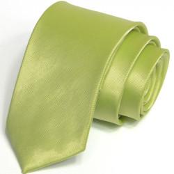 Zelená kravata jednofarebná Greg 99950