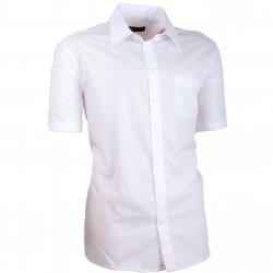 Biela pánska košeľa slim fit 100% bavlna non iron Assante 40006