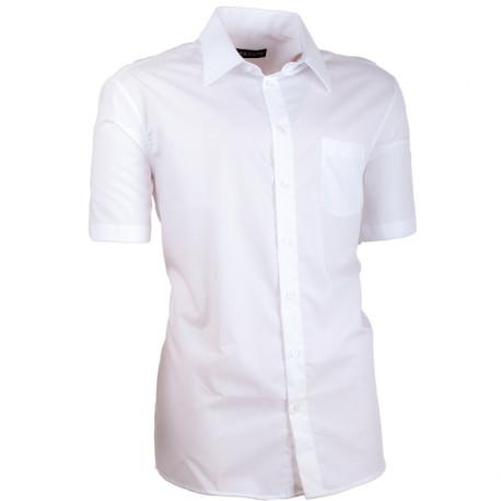 edf80f593 Biela košeľa slim fit pánska 100% bavlna non iron Assante 40006