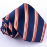 Pánska oranžová kravata Greg 97024