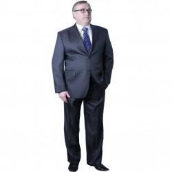 Pánsky sivý oblek skrátený Galant 160600