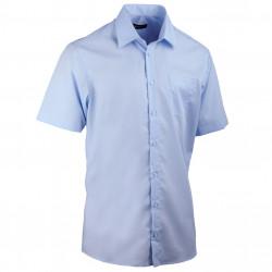 Nadmerná košeľa modrá 100% bavlna non iron Assante 41078