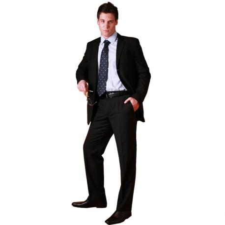 Čierny pánsky oblek spoločenský na výšku 182 - 188 cm fa Vorite 160618