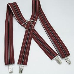 Červené pánske traky Assante 90104