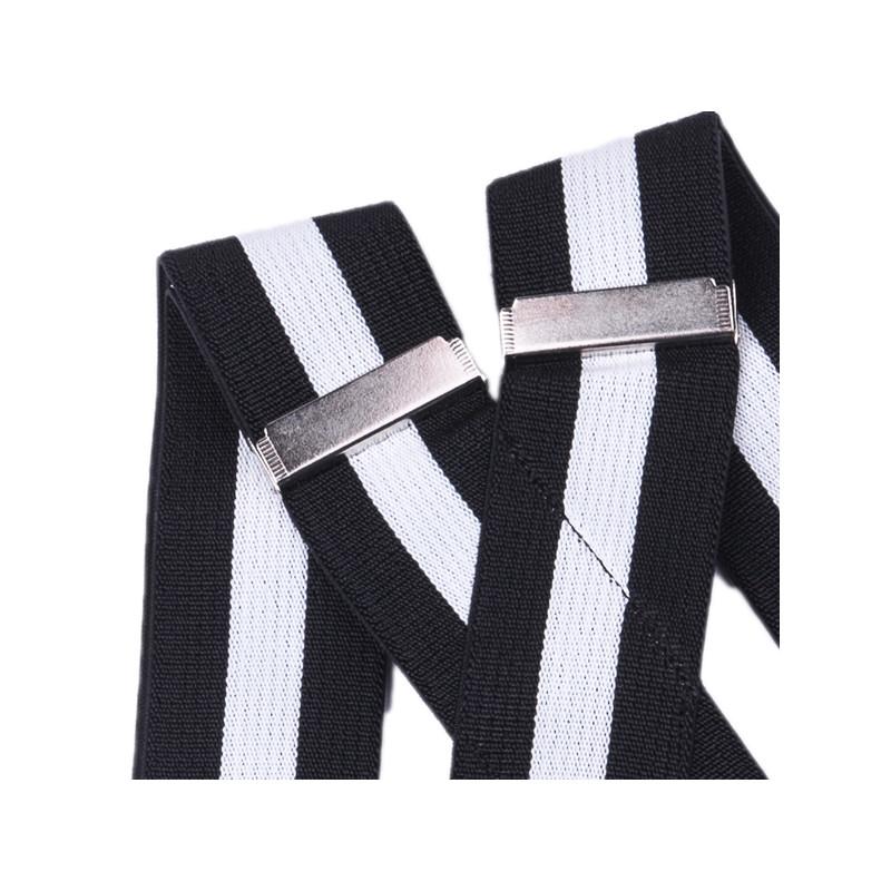 95f449f30fd4d Čierno biele traky super široké Assante 90116