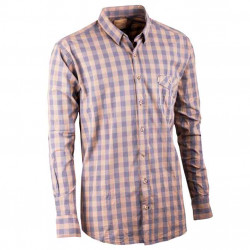 Sivožltá pánska košeľa dlhý rukáv 100% bavlna Tonelli 110901