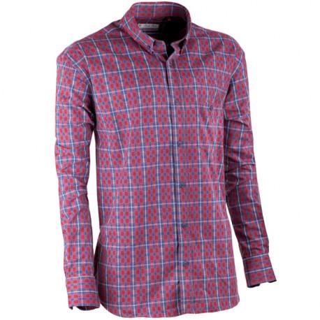 Červenomodrá flanelová košeľa Tonelli 110909