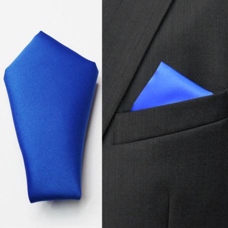 Modrá vreckovka do saka Assante 90643