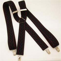 Čiernočervené traky Assante 90137