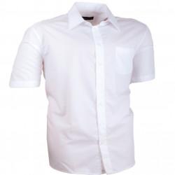Biela pánska košeľa rovná 100% bavlna non iron Assante 40007