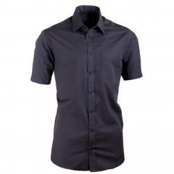833f5389f8df Nadmerná košeľa čierna Tonelli 110811