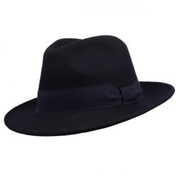 Modrý pánsky klobúk Assante 85067