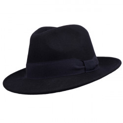 6f237da62 Modrý pánsky klobúk Assante 85067