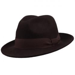 Hnedý klobúk Assante 85047