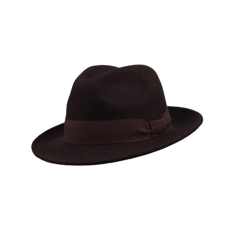 6b43b0cd7 Hnedý klobúk Assante 85047