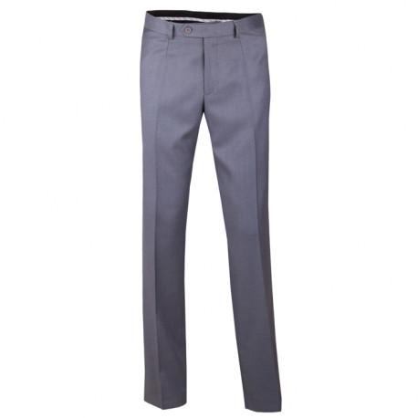 f7ba435e6d08 Sivé pánske spoločenské nohavice Assante 60511