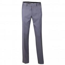 Predĺžené pánske spoločenské nohavice sivej Assante 60512