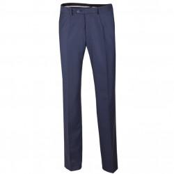 Modré pánske spoločenské nohavice Assante 60521