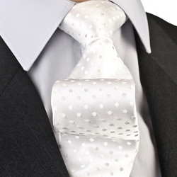 Svadobná kravata ekry Greg 92893