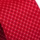 Červená kravata štvorčeky Greg 93191