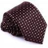 Hnedá luxusná kravata Greg 92888