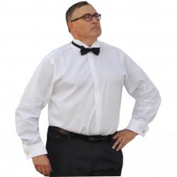 Nadmerná fraková košeľa 100% bavlna biela Assante 31003
