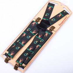 Luxusné poľovnícke traky srnec zelené Assante 90151