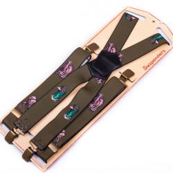 Luxusné poľovnícke traky zelene diviak Assante 90152
