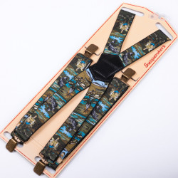 Luxusné rybárske traky zelene Assante 90155