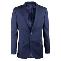 Predĺžené pánske sako modré Assante 60005