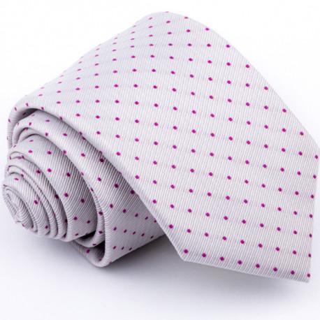 Sivá kravata Greg 91222