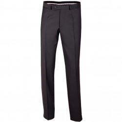 Nadmerné pánske čierne spoločenské nohavice na výšku 176 - 182 cm Assante 60504