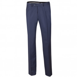 Nadmerné pánske modré spoločenské nohavice Assante 60524