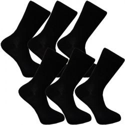 Multipack ponožky 6 párov bambusové čierne pánske Assante 792