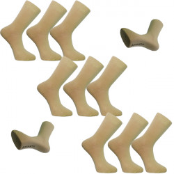 Multipack ponožky antibakteriálne so striebrom Assante 732