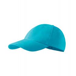 Tyrkysová baseballová čiapka 100% bavlna Adler 81168
