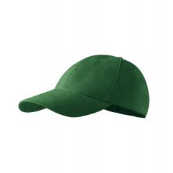 Fľaškovo zelená baseballová šiltovka 100% bavlna Adler 81169