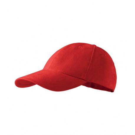 Červená baseballová čiapka 100% bavlna Adler 81189