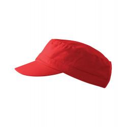 Červená čiapka vojenského štýlu Adler 81180