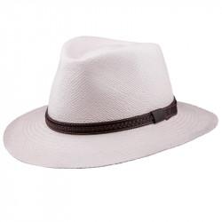 Smotanový letný Panama klobúk Assante 8100