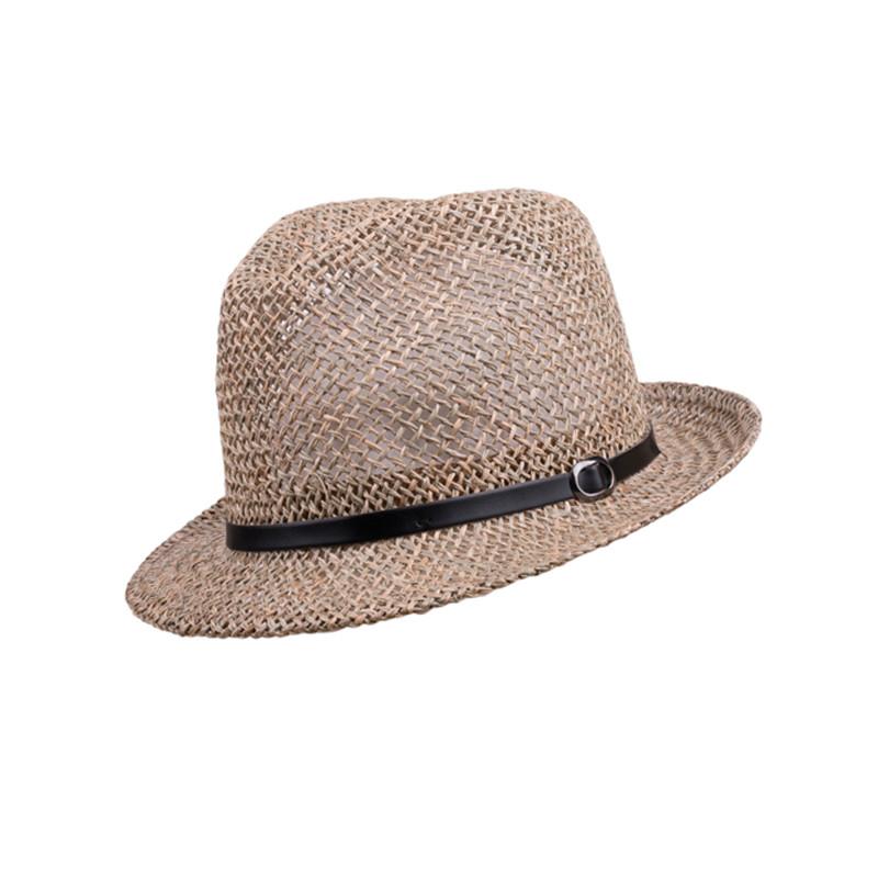 bb0cc5723 Béžový malý pánsky slamený klobúk Assante 80002