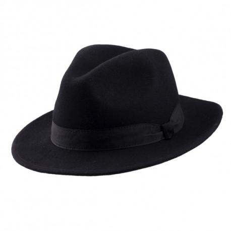 d724c25f9 Čierny pánsky klobúk Assante 85028