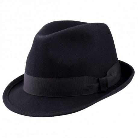 Čierny pánsky klobúk Assante 85010